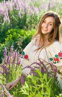Ukrainian girl Poltava Travel